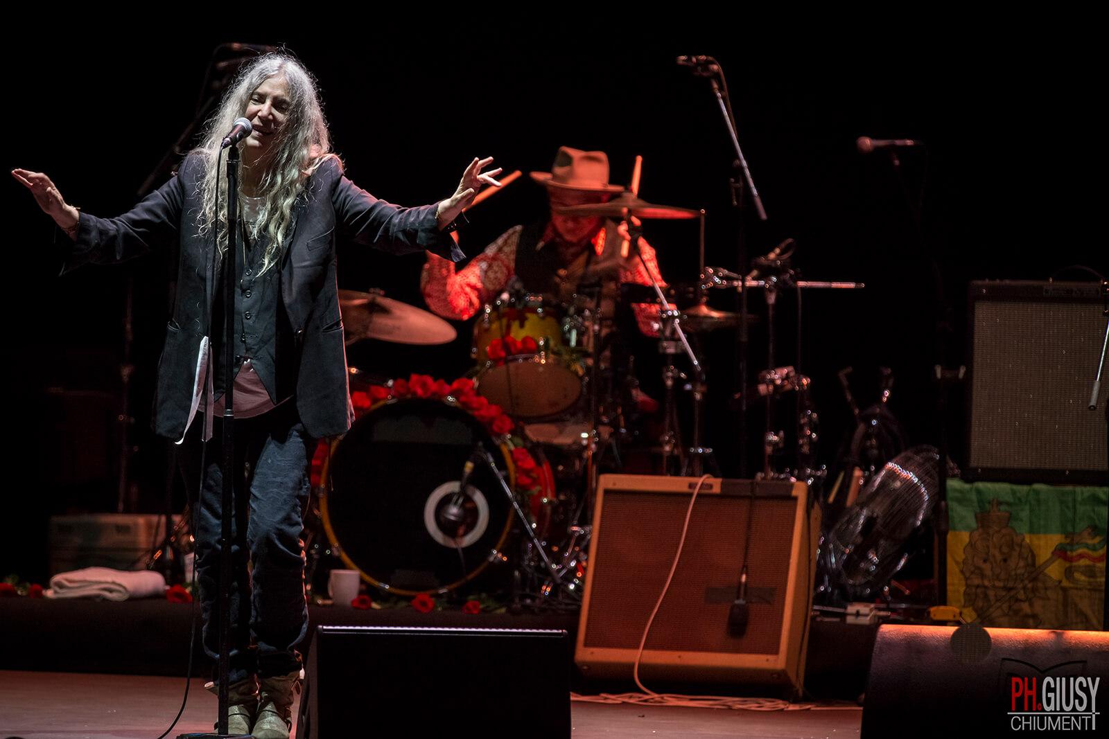 Patti Smith – Cavea Auditorium – Roma Summer Festival_-6